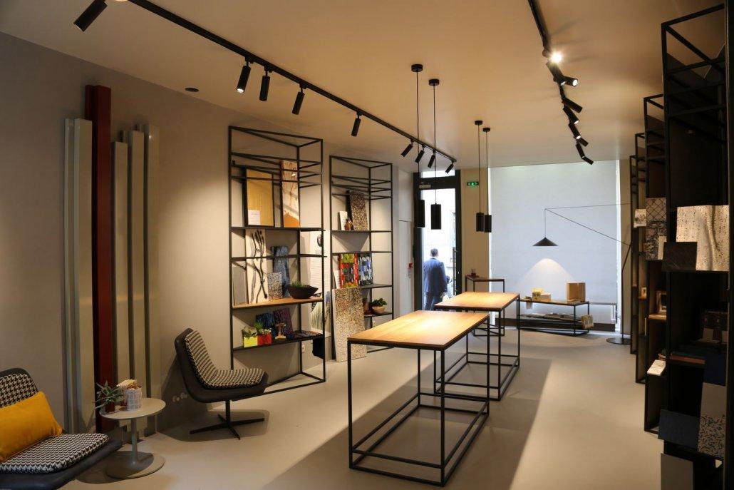 Inaugurato lo showroom zanutta a parigi le foto