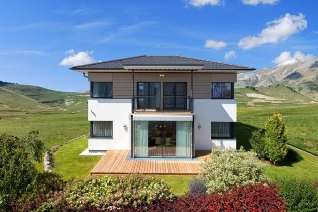 Hartl haus presenta la casa prefabbricata trend 146 villa for Haus case prefabbricate