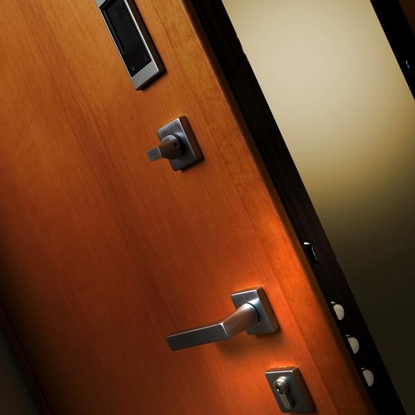Dierre hibry la porta blindata con doppia apertura - Apertura porta blindata ...
