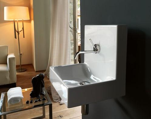Kerasan soluzioni bagno per piccoli spazi - Soluzioni per gradino in bagno ...