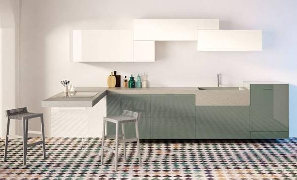 Top cucina ceramica cucine stone italiana - Top cucina in ceramica ...