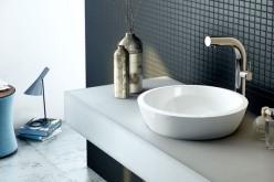 Tubo, rubinetti modern design per il lavabo