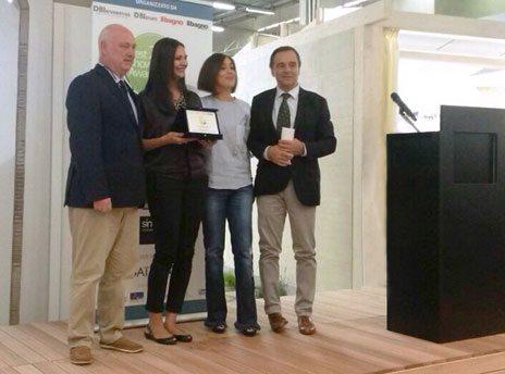 quartarella premiato al best showroom award 2014 - youtrade web - Quartarella Arredo Bagno
