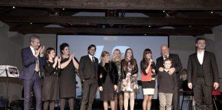 La famiglia Pegoraro al gran completo per festeggiare i 40 anni dell'azienda