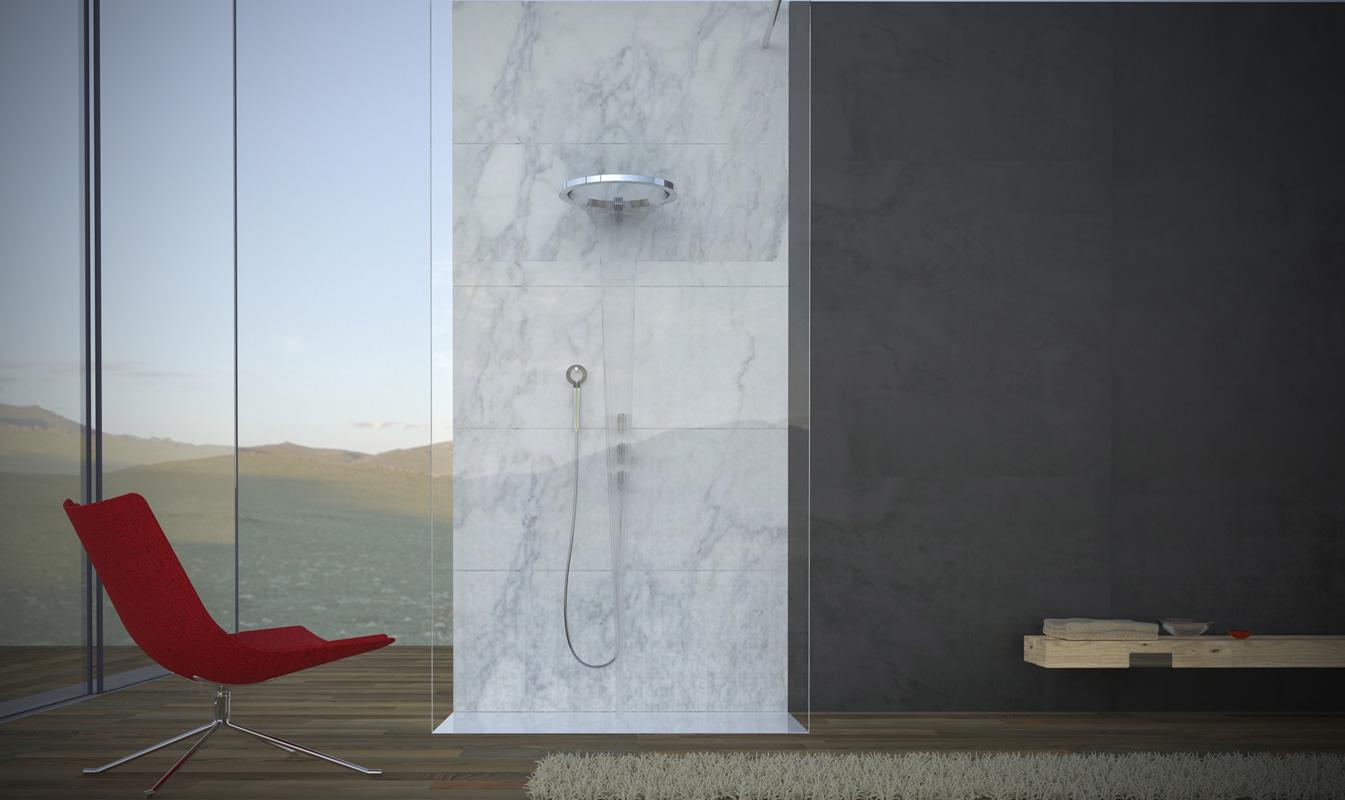 Design Bagno 2015 : Graff a ish 2015 con ametis ring per un bagno di design