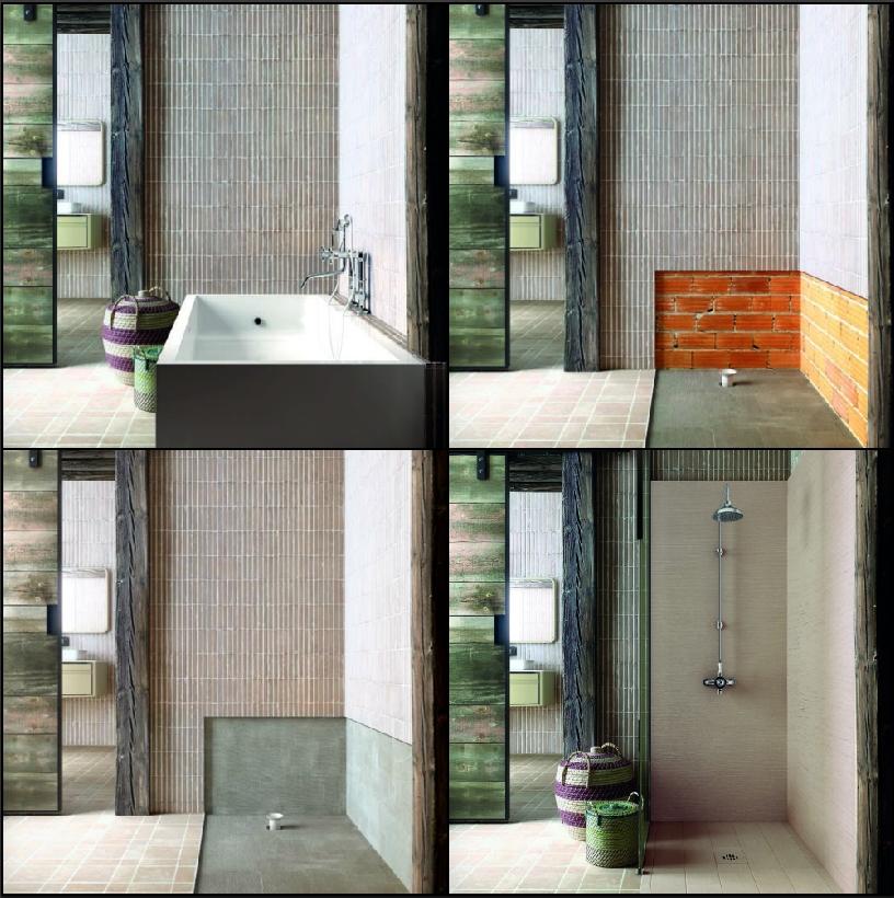Silex rustica i piatti doccia in silexpol di fiora youtrade web - Sostituire la vasca con doccia ...