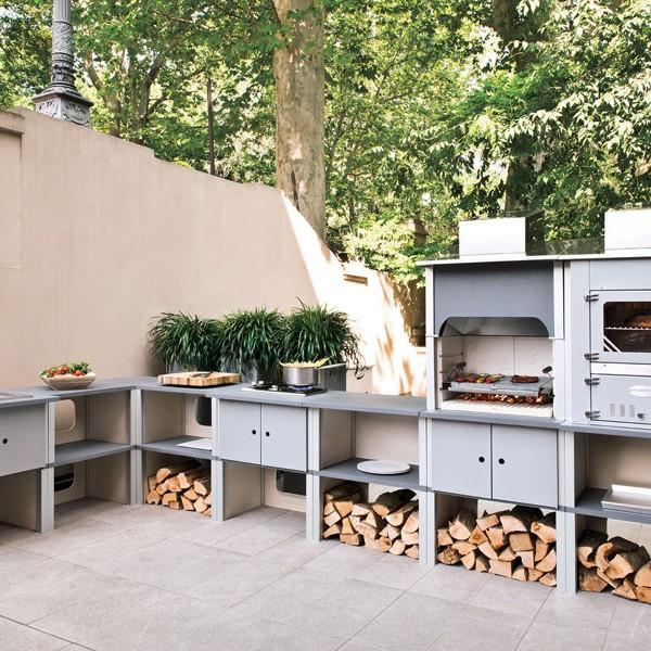 Cucine esterne palazzetti modulari flessibili e semplici da installare youtrade web - Cucine in muratura esterne ...