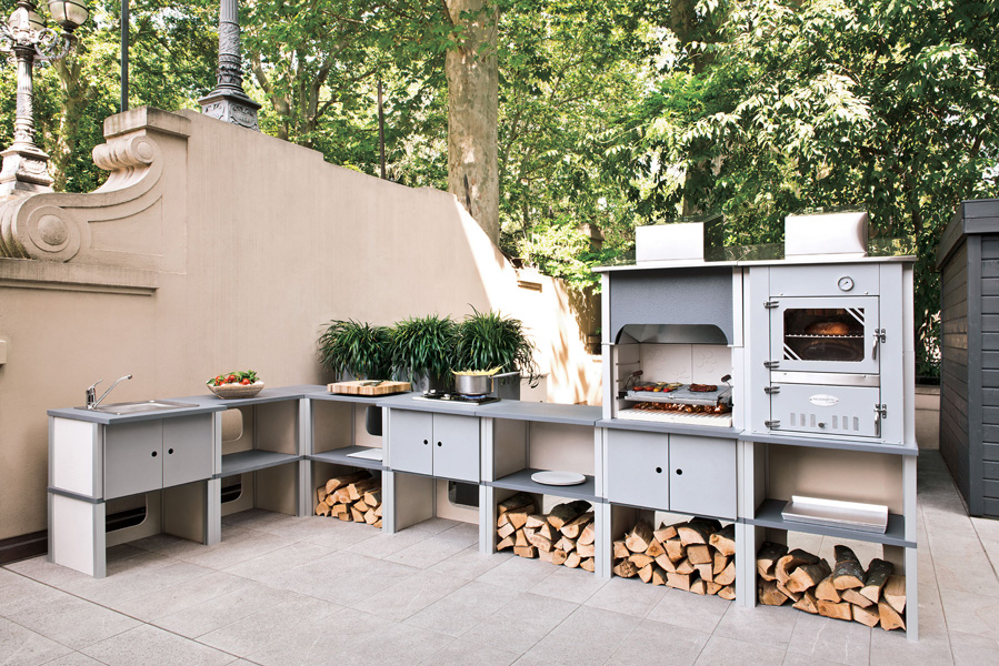 Cucine esterne Palazzetti: modulari, flessibili e semplici ...