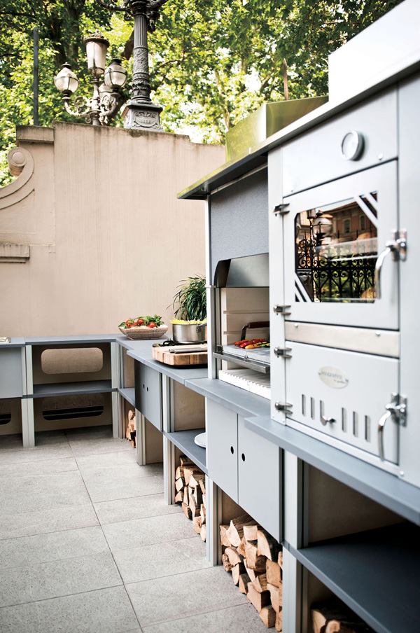 Cucine esterne palazzetti modulari flessibili e semplici - Cucine esterne in muratura ...