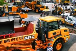 Macchine per costruzioni, missione italiana in Sudafrica