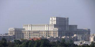 Bucarest, il Parlamento