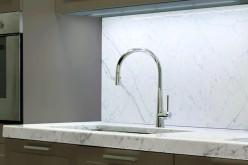 Design in cucina con il rubinetto Conical di Graff