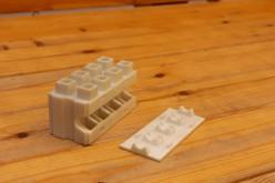 Sembra un tassello del Lego, ma è un mattone in cemento