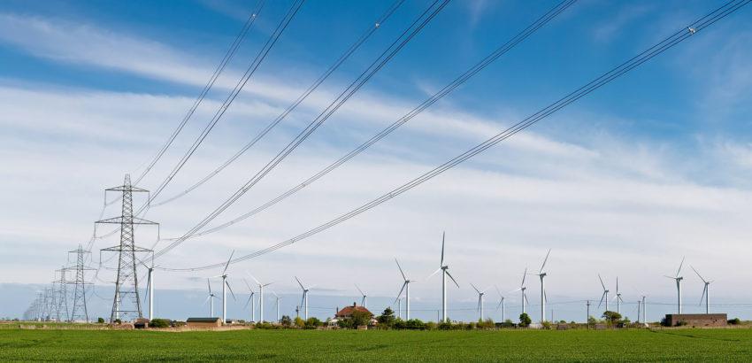 Eletrodotto e turbine eoliche