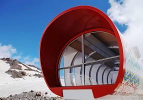 Un hotel ecosostenibile a 4mila metri (e made in Italy)