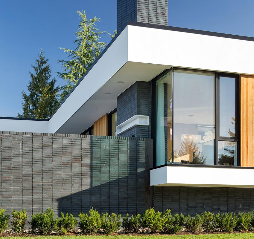Una casa leed platinum sul monte tabor youtrade web - Facciata esterna casa ...