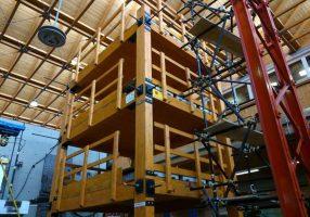 Anche il legno può essere utilizzato per le opere speciali