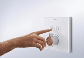 Nuovi miscelatori termostatici Hansgrohe per la doccia