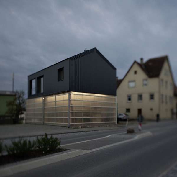In germania la casa si costruisce anche su un autocarro youtrade web - Casa in germania ...