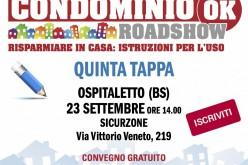 Si avvicina a Brescia la nuova tappa di Condominio OK
