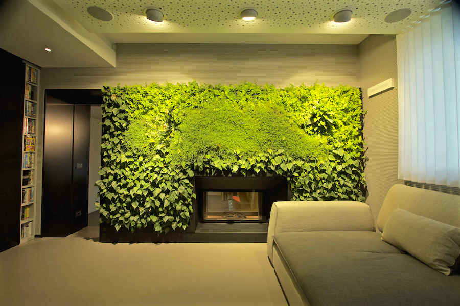 Giardino verticale interno con sundar youtrade web - Giardino interno casa ...