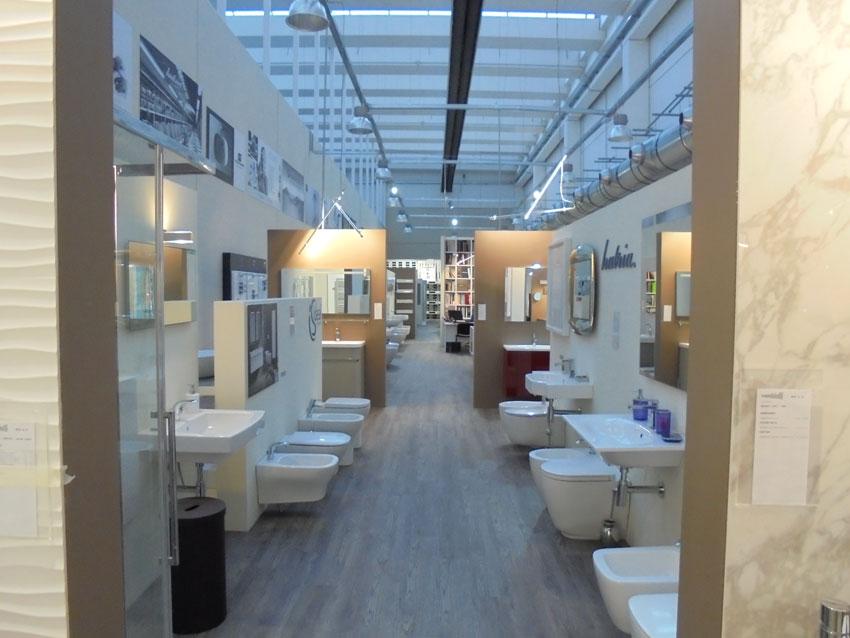 Lo showroom di Collecchio