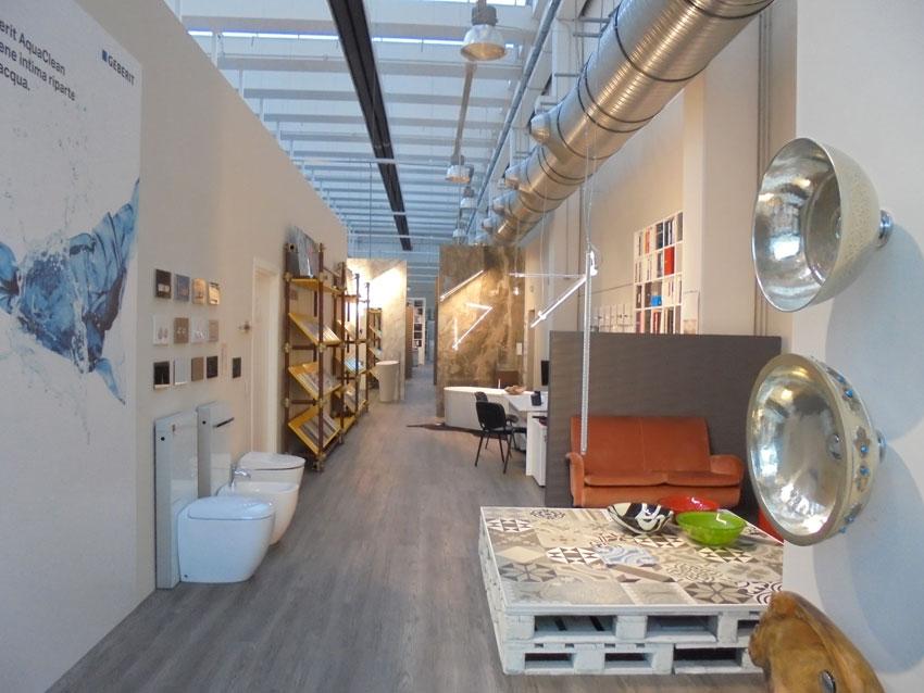 Lo showroom di Collecchio di Cambielli Edilfriuli