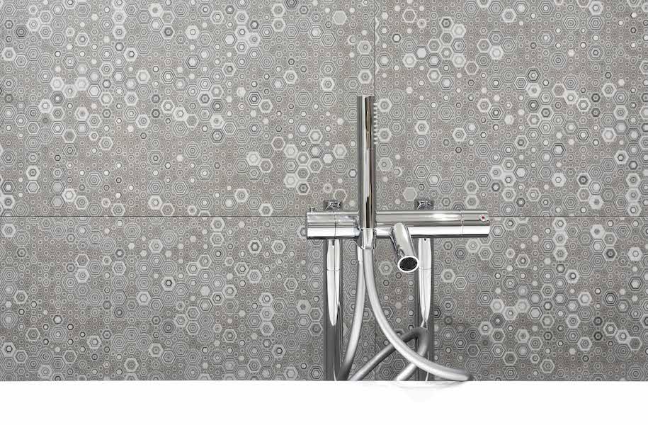 Piastrelle crea di ceramiche pastorelli youtrade web - Piastrelle esagonali bagno ...