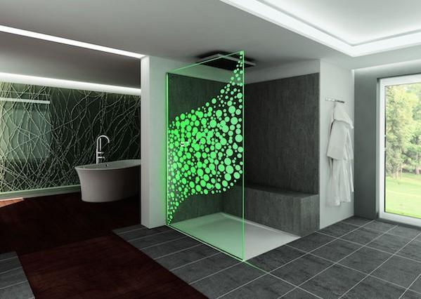Dlight air: nuova parete a led per box doccia   youtrade web