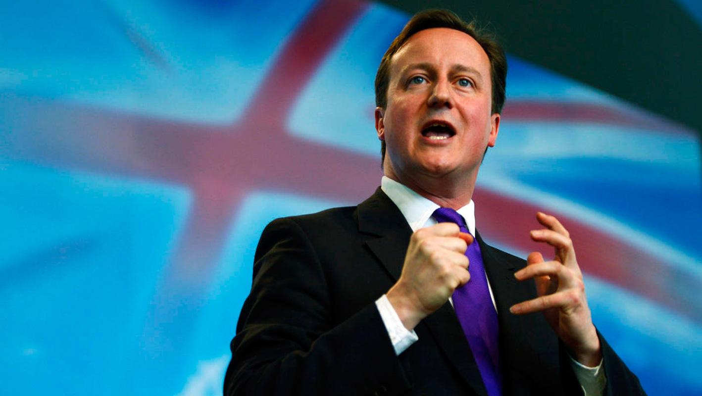 Il premier inglese Davi Cameron