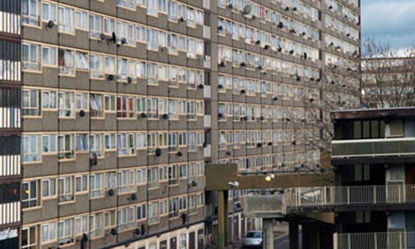 Case a Heygate, zona a sud di Londra