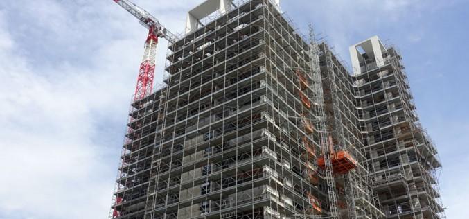 A marzo torna in ribasso l'indice delle costruzioni Ue