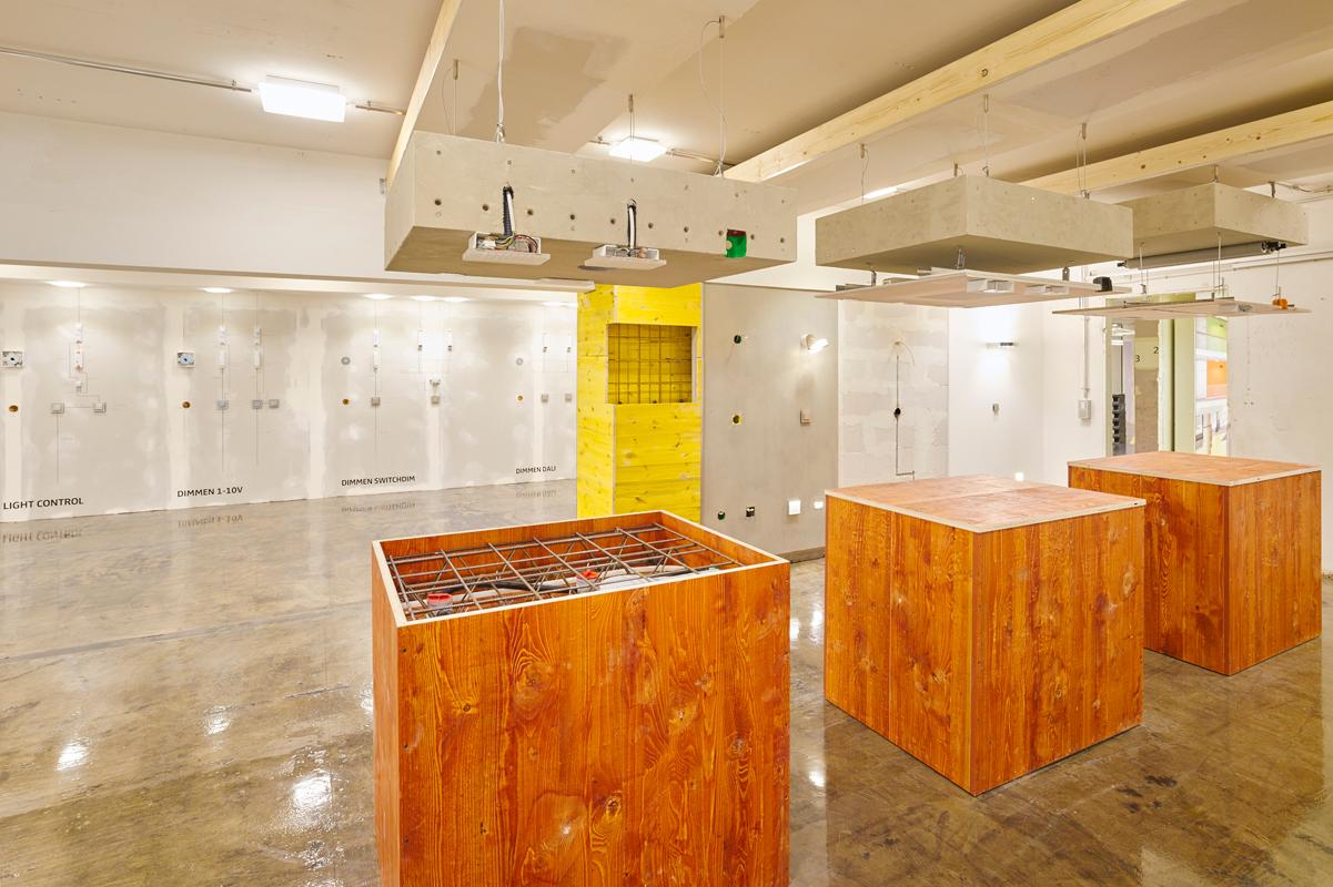 A stoccarda lo showroom di nimbus diventa un laboratorio