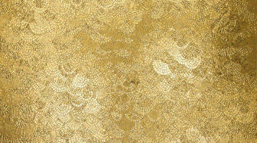Un esempio di mosaico della collezione Gold Sicis
