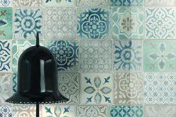 Frame di Ragno, maiolica artigianale per il bagno residenziale