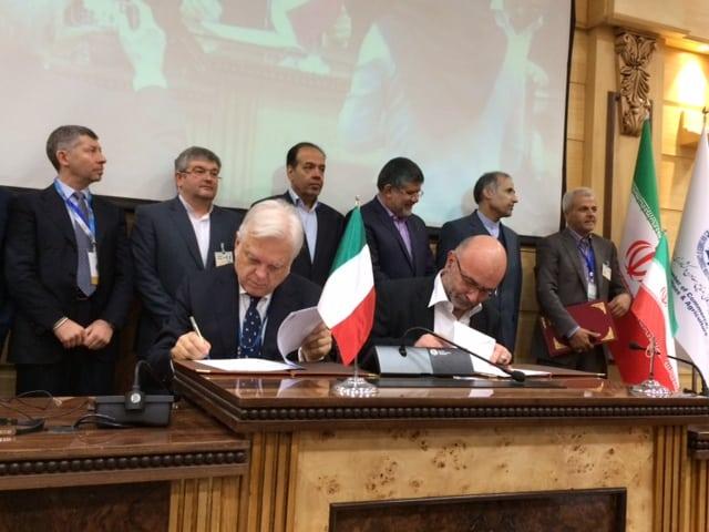 Accordo Italia-Iran, la firma Animp-Apec