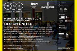 Desing, c'è anche il Circolo di Torino al Fuorisalone 2016