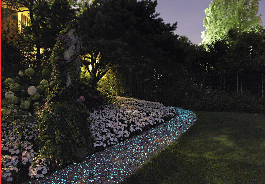 Paghera porta il fluo in giardino for Paghera giardini