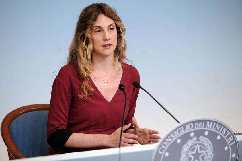 La ministra della Pubblica Amministrazione Marianna Madia