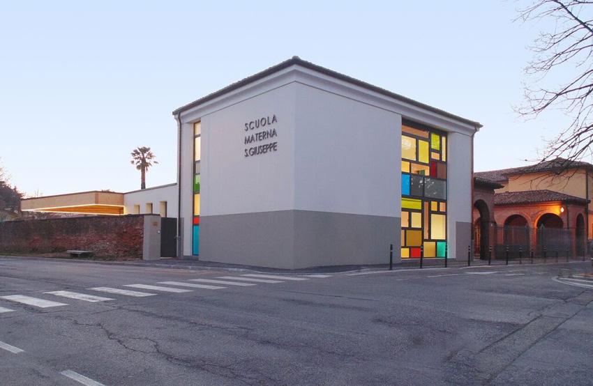La scuola materna San Giuseppe di Castel Bolognese