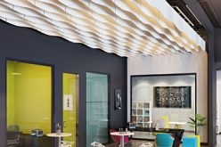 Baffles by Armstrong: isolamento acustico e design in soffitto
