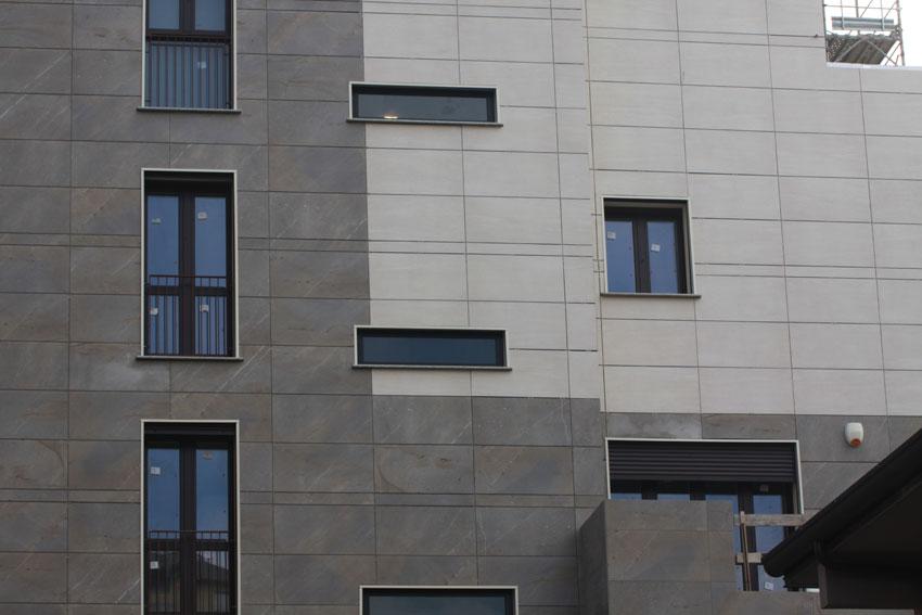 Isotec parete comfort abitativo e ricercatezza estetica a san donato