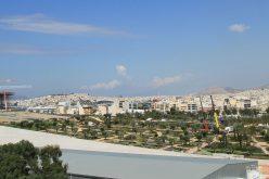 Le gru Niederstätter per il progetto di Renzo Piano ad Atene