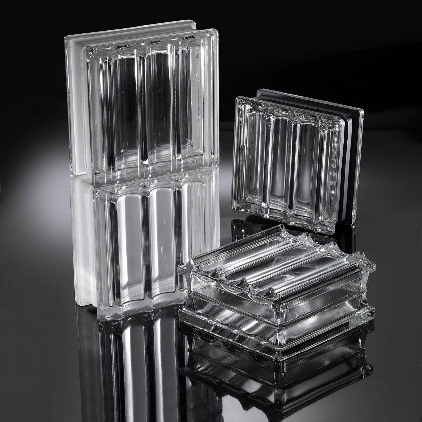 Mattone in vetro tridimensionale - Doric