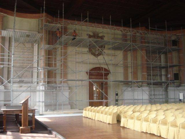 Fornoni, ristrutturazione chiesa