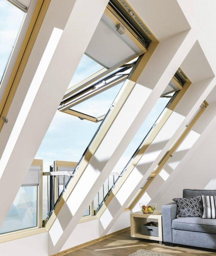 Galeria la finestra balcone di fakro youtrade web - Finestra balcone ...