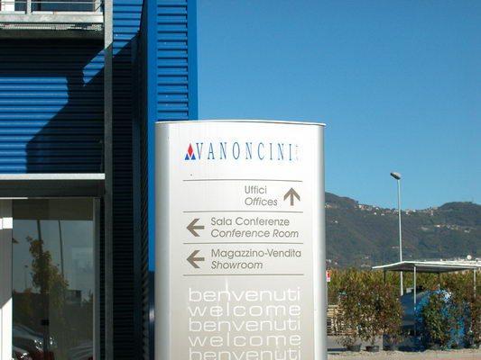 Palazzina uffici, Vanoncini Spa