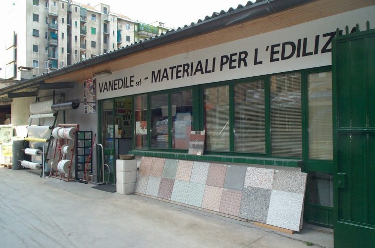 Vanedile, materiali per l'edilizia