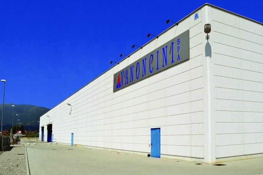 Vanoncini Spa, capannone-magazzino