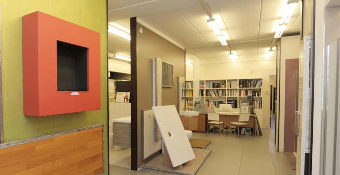 Centro Edile Antonini, showroom